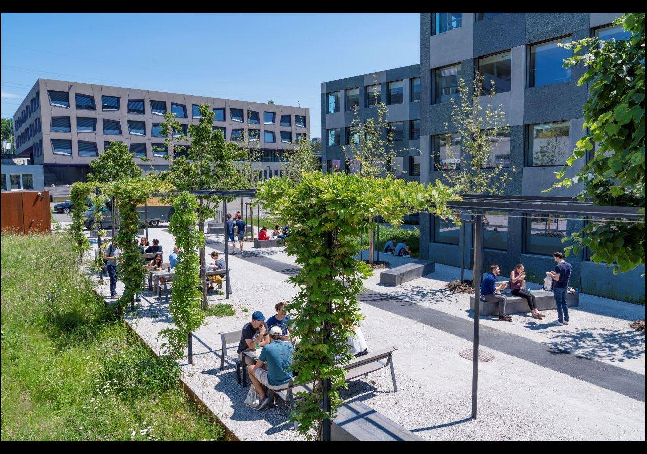 Das Leben auf dem Biopôle Campus