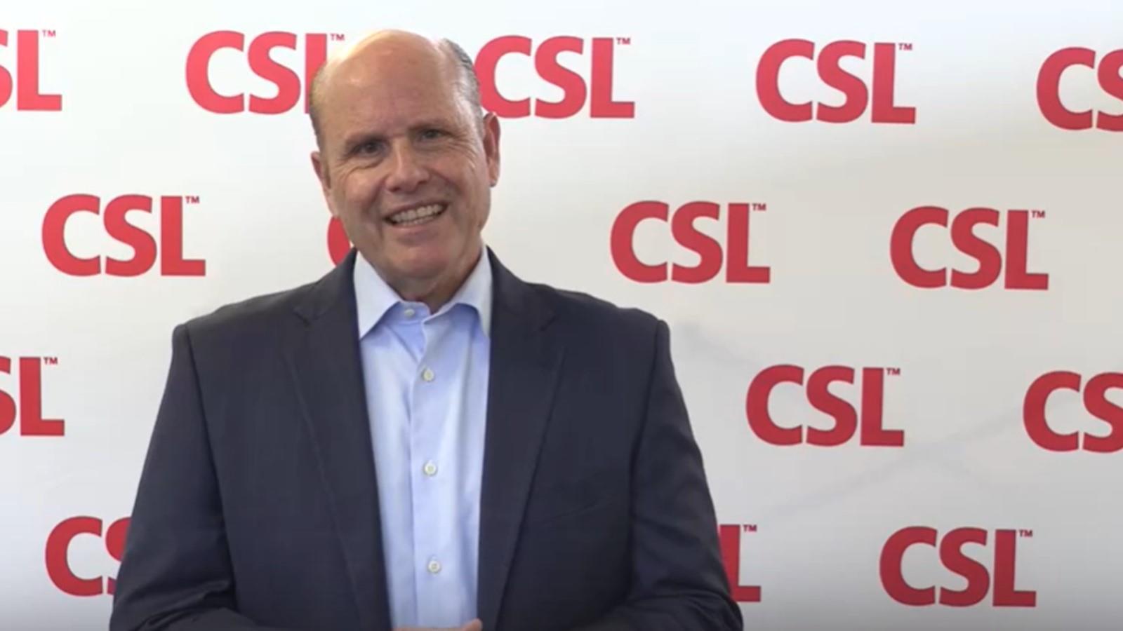 CSL-CEO Paul Perreault zum Tag der seltenen Krankheiten