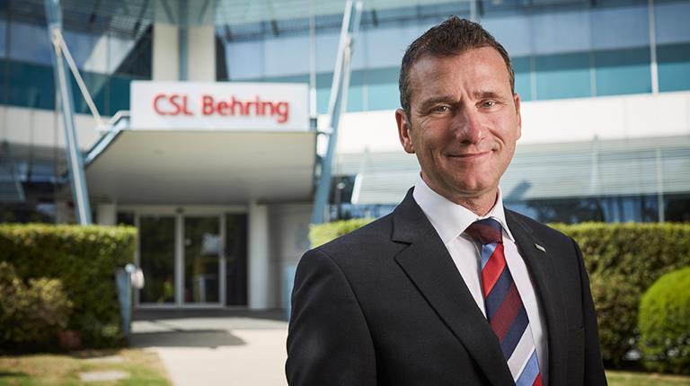 Martin Schaeren, Site Head at CSL Behring AG Bern, effective 7 October 2019